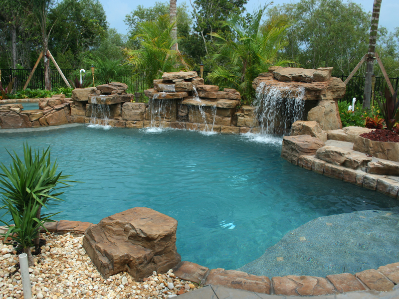 pool water feature brentwood nashville franklin tennessee