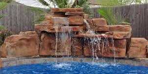 pool rock water feature brentwood nashville franklin tennessee